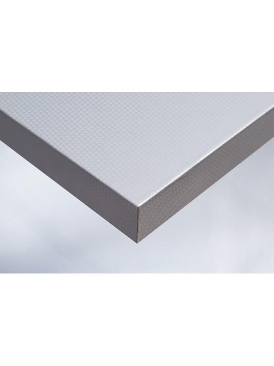 Интерьерная плёнка Cover R3 металлик карбон (серебро)