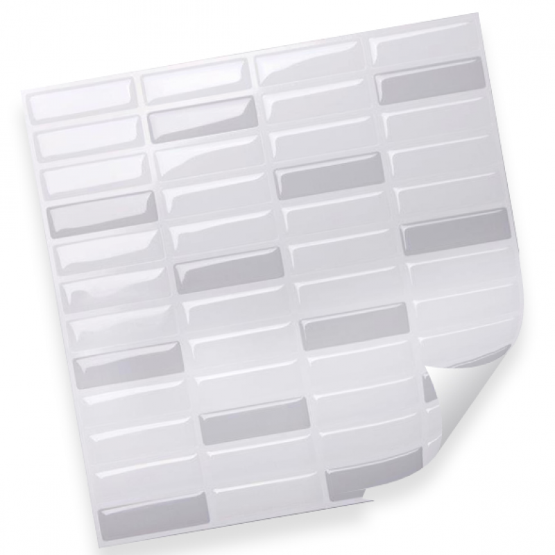 Интерьерная плёнка CST05 random white & grey купить
