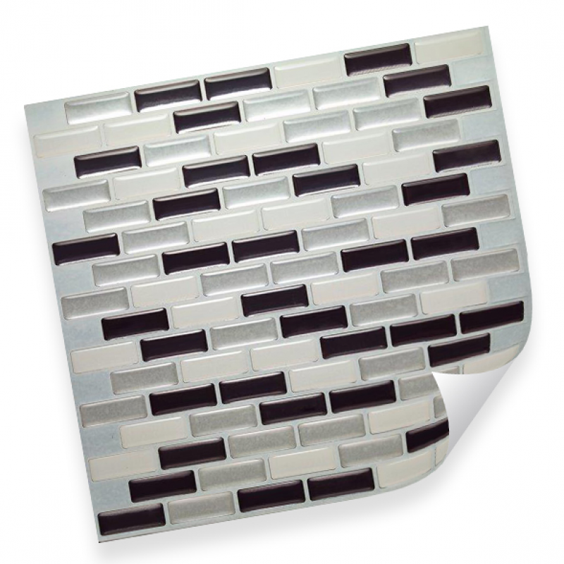 Интерьерная плёнка CST06 random anthracite & silver купить