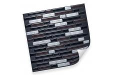 Интерьерная плёнка CST07 random black & marble