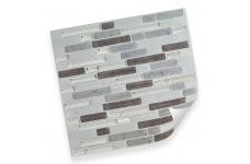 Интерьерная плёнка CST08 random marble & silver