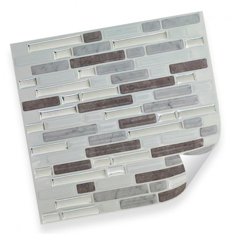 Интерьерная плёнка CST08 random marble & silver купить