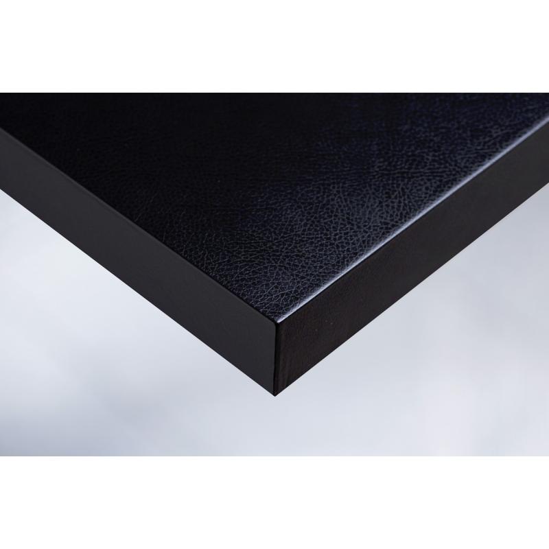 Интерьерная плёнка X4 кожа (чёрная)  купить