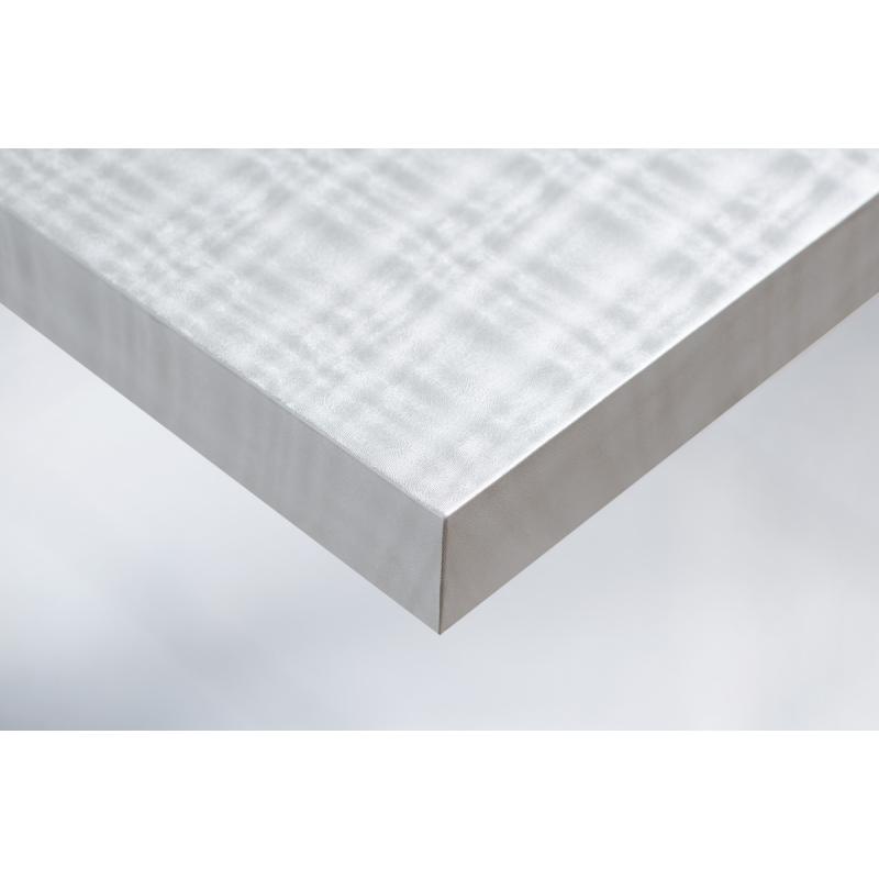 Интерьерная плёнка Cover R1 металлик клетка (серебро) купить