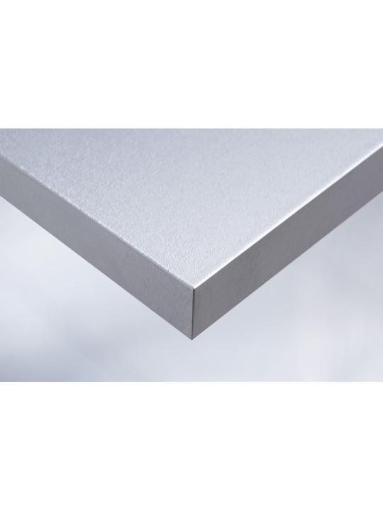 Интерьерная плёнка Q2 металлик (серебро)