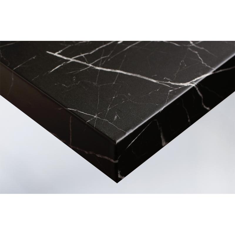 Интерьерная плёнка U50 чёрный мрамор купить