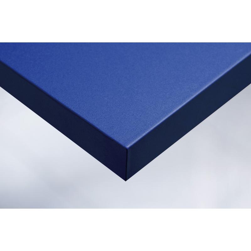 Интерьерная плёнка O2 Королевский голубой зернистый бархат купить